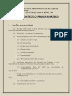 Conteudo Programatico CursoRecursosTrabalhistas-ConectaAdvogado
