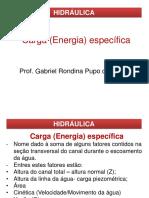 Aula 03 - Energia Específica