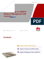Basic Training on I2000V3 Network Dh V2.1