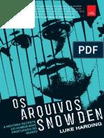 Os Arquivos Snowden - Luke Harding
