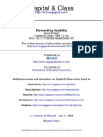 Dismantling Flexibility