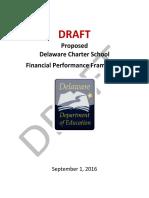 Delaware Propsed Financial Performance Framework 2016