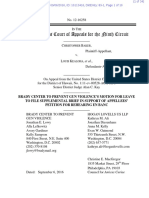 Brady Campaign Amicus Petition for Rehearing