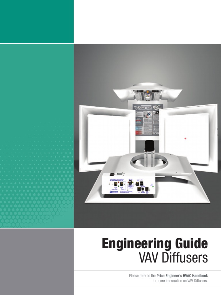 Vav Diffusers Engineering Guide | Hvac | Duct (Flow)