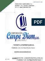 Manual Inces Nomina Empresarial y Petrolera Arreglar