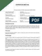 Contrato Obra Civil
