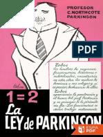 La Ley de Parkinson - Cyril Northcote Parkinson