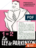 La Ley de Parkinson - Cyril Northcote Parkinson