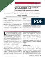 Caso Clinico Anemia Hemolitica Autoinmun