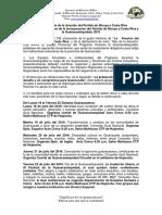 Lineamientos Oficiales Mes de Julio 2016. VF