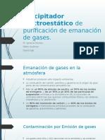Precipitador Electroestático de Purificación de Emanación de Gases
