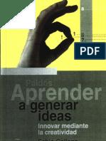 Aprender a Generar Ideas - Fabio Gallego