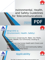 Environmental, Health, And Safety Guidelines