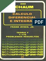 Cálculo Diferencial e Integral - Ayres - Schaum - Curso