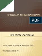 Apresentação curso linux 40h 2010