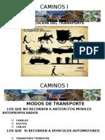 1.1 Historia Del Transporte