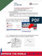 2015 Tutorial Campus Pre Matricula y Matricula Online