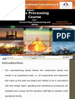 Process Plant Commissioning and Start Up