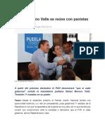 05.09.2016 SDP Noticias - Rafael Moreno Valle se reúne con panistas de Guerrero