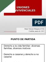 #UnionesConvivenciales Por María Victoria Pellegrini