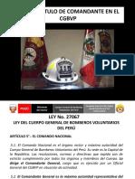TITULO DE COMANDANTE EN EL CGBVP