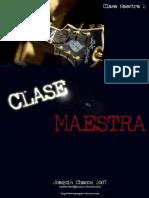 Joaquin Chacon - Clase Maestra 2