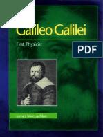 Galileo Galilei - First Phycisist