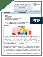 Diagnostico Lenguaje 3 Basico