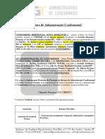Modelo - Contrato de Prestação de Serviços de Administração de Condomínio