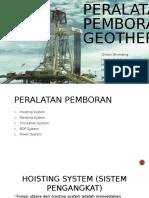 Peralatan Pemboran Geothermal