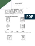 Evaluación de proceso MATE - 1°