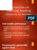 Approaches on Teaching Reading