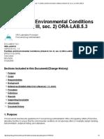 FDA- Laboratory Environment