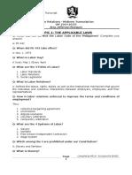 Labor Relations - Midterm Transcript 2014