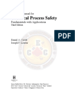 Chemical Process Safety,3rd Ed - Solution Manual - CEC