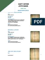 Soft Offer Jute Bags-jun10