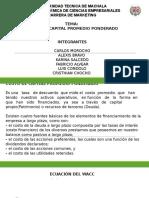 Costo de Capital Promedio Ponderado (2)
