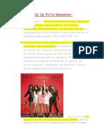 Antecedentes de Fifth Harmony