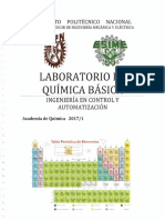 Manual de Laboratorio de Química Básica, ESIME Zacatenco 2017-1