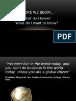 Basics of Internationalization