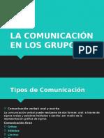 La Comunicación en los Grupos