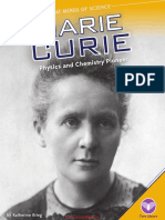 Marie Curie Physics and Chemistry Pioneer (Great Minds of Science)