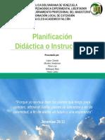 ED- Tema 1 Tipos Planificación