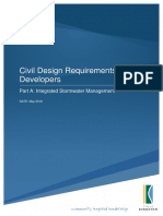 Civil Design Requirements for Developers Part a Integrated Stormwater Management Version 4