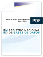 Manual De registro nacional de base de datos SIC