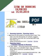 Symposium on Running Injuries