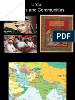 Urdu Cultures and Communities