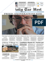 The Daily Tar Heel for Sept. 7, 2016