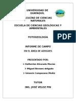 Fotogeologia Informe Final