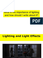 What is the Importance of Lighting